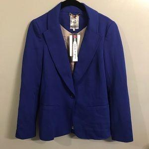 Yoana Barashi Royal Blue Blazer size small